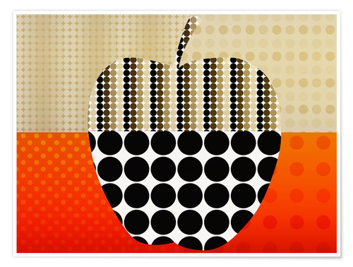 Premium-Poster apple impression