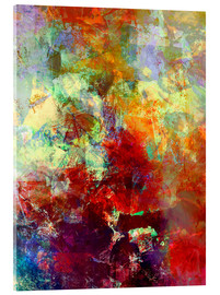 Acrylglas  stained paint - Wolfgang Rieger