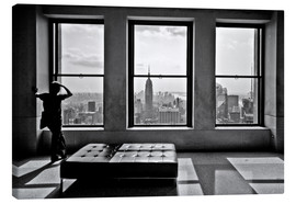 Leinwandbild  New York - Top of the Rock - Thomas Splietker