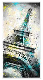 Premium-Poster City Art PARIS Eiffelturm IV