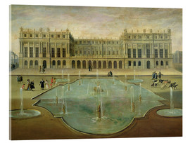 Acrylglasbild  Schloss Versailles - French School