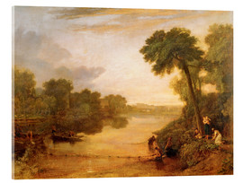 Acrylglasbild  Themse in der Nähe von Windsor - Joseph Mallord William Turner