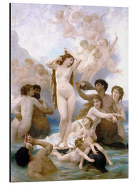 Alu-Dibond  Geburt der Venus - William Adolphe Bouguereau