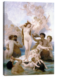 Leinwandbild  Geburt der Venus - William Adolphe Bouguereau