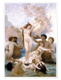William Adolphe Bouguereau - Geburt der Venus