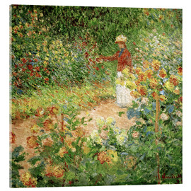 Acrylglasbild  Garten in Giverny - Claude Monet