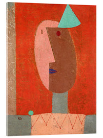 Acrylglasbild  Clown - Paul Klee