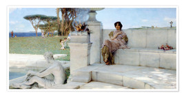Premium-Poster  Die Stimme des Frühlings - Lawrence Alma-Tadema