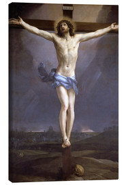 Leinwandbild  Christus am Kreuz - Guido Reni