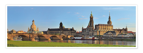 Premium-Poster Dresden Canaletto Blick