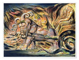 Premium-Poster  Feuerwagen - William Blake