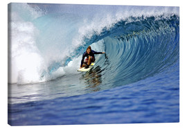 Leinwandbild  Surfen blau Paradiesinsel Welle - Paul Kennedy