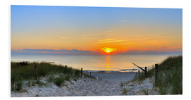 Forex  Panorama Sonnenuntergang am Strand - Fine Art Images