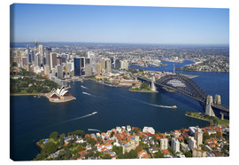 Leinwandbild  Sydney Skyline - David Wall