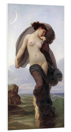 Hartschaumbild  Dämmerung - William Adolphe Bouguereau