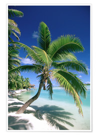 Premium-Poster Aitutaki auf Cook Islands
