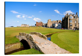 Alubild  Golfplatz in St. Andrews - Bill Bachmann