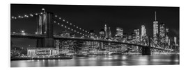 Forex  New York City Night Skyline - Melanie Viola