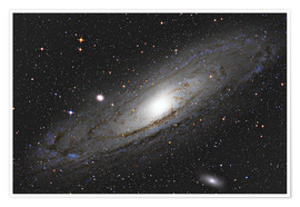 Premium-Poster  Andromeda Galaxy M31 I - Alexander Voigt