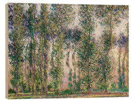 Claude Monet - Pappeln in Giverny