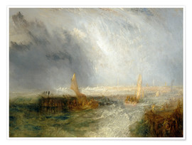 Premium-Poster  Ostende - Joseph Mallord William Turner