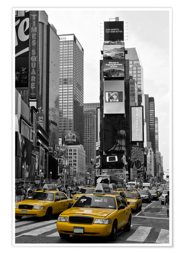 Premium-Poster NEW YORK CITY Times Square
