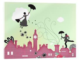 Acrylglasbild  Mary Poppins London - Elisandra Sevenstar