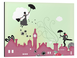 Alu-Dibond  Mary Poppins London - Elisandra Sevenstar