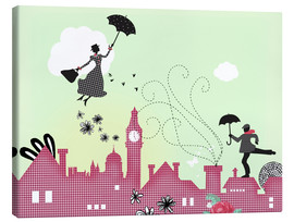 Leinwandbild  Mary Poppins London - Elisandra Sevenstar