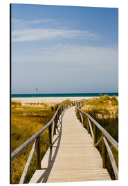 Alu-Dibond  walk to the beach - gn fotografie