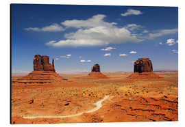 Alubild  Monumente Valley Navajo National Monument - Renate Knapp Waldundwiesenfee