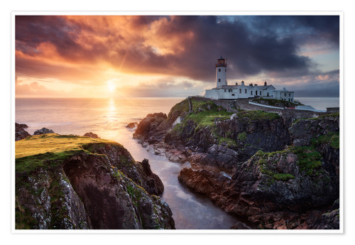 Premium-Poster Fanad Light