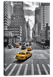 Leinwandbild  New York Yellow Cab - Marcus Klepper