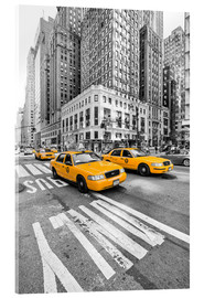 Acrylglasbild  New York Yellow Cab - Marcus Klepper