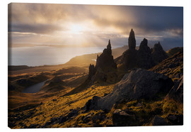 Leinwandbild  Schottland - Isle of Skye - Old Man of Storr - Tobias Richter
