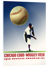 Acrylglasbild  chicago cubs 1950 - Sporting Frames