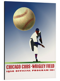 Alubild  chicago cubs 1950 - Sporting Frames