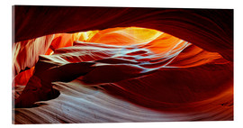 Acrylglasbild  Antelope Canyon USA - Michael Rucker
