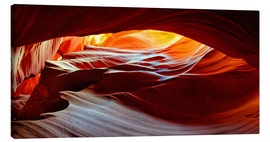 Leinwandbild  Antelope Canyon USA - Michael Rucker