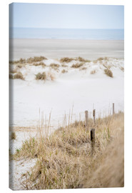 Leinwandbild  German sea (St. Peter Ording) - gn fotografie