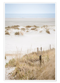 Premium-Poster German sea (St. Peter Ording)
