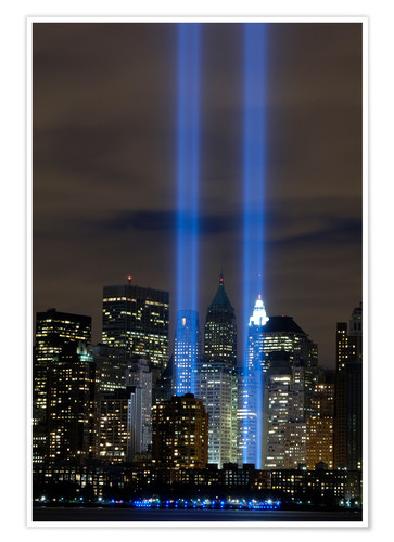 Premium-Poster Tribute in Light (Lichtdenkmal)