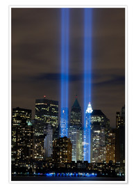 Premium-Poster  Tribute in Light (Lichtdenkmal) - Stocktrek Images