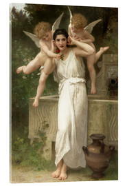 Acrylglasbild  Jugend - William Adolphe Bouguereau