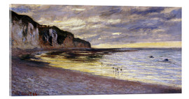 Acrylglasbild  Pointe De Lailly, Maree Basse - Claude Monet