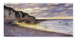 Premium-Poster  Pointe De Lailly, Maree Basse - Claude Monet