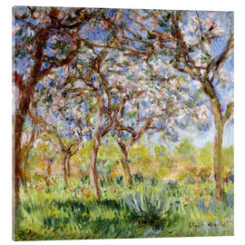 Acrylglas  Frühling in Giverny - Claude Monet