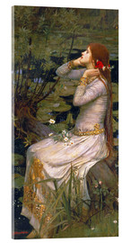 Acrylglasbild  Ophelia - John William Waterhouse