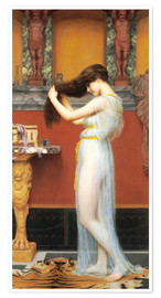 Poster  Im Bad - John William Godward