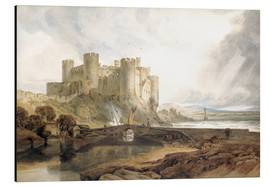 Alubild  Conway Castle - Joseph Mallord William Turner